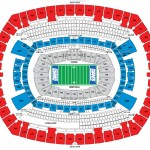 Giants Seating Chart 150x150 MetLife Stadium, E. Rutherford NJ