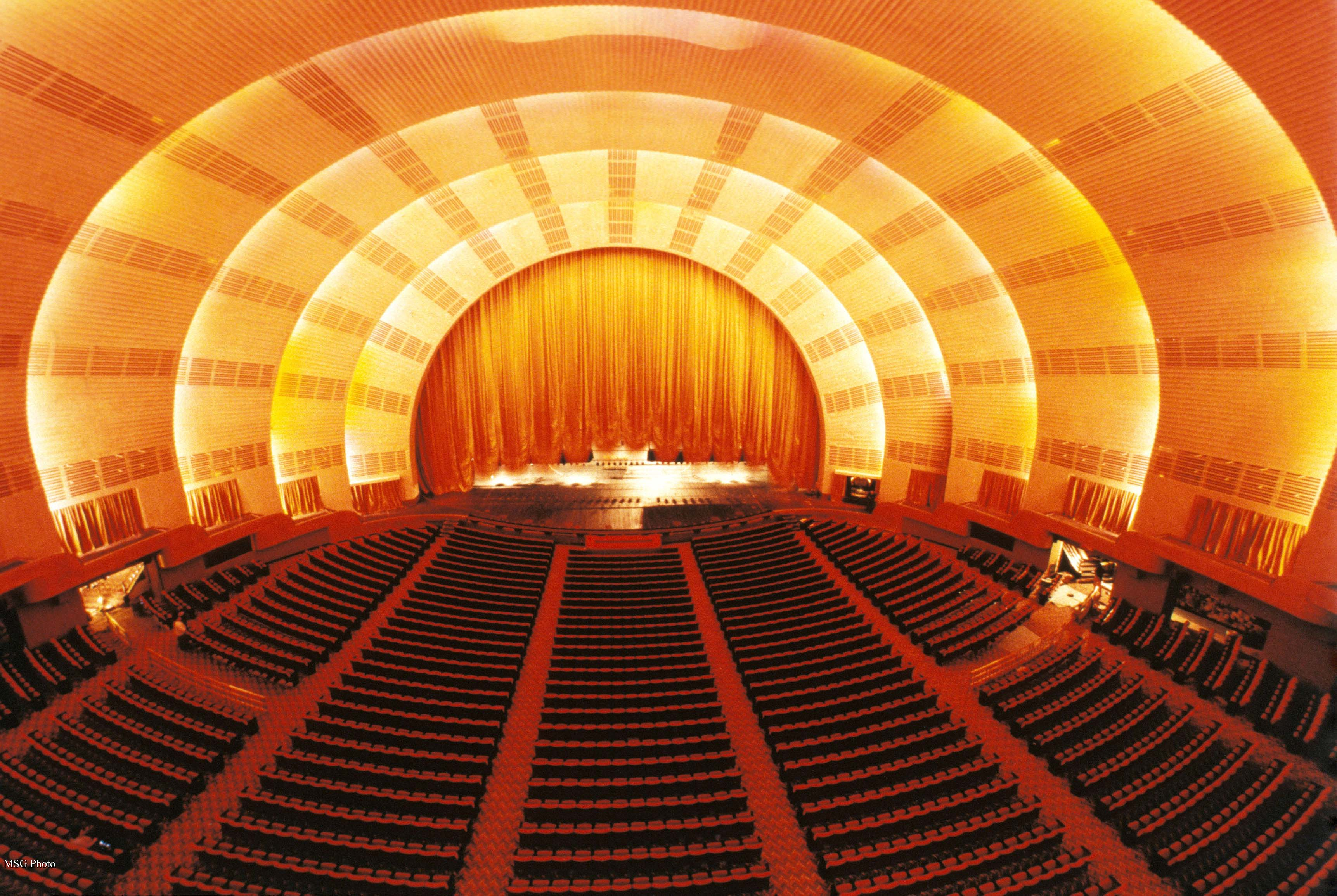 Radio City Music Hall New York Ny Seating Chart View