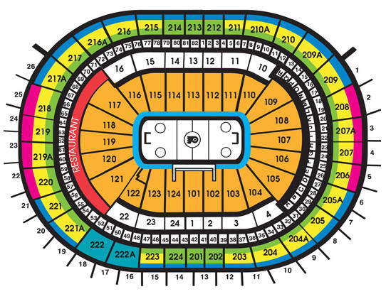 Wells Fargo Center Ice Hockey Seating Chart Wells Fargo Center, Philadelphia PA