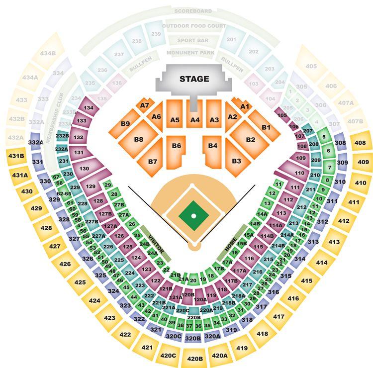 Yankee Stadium  Bronx NYYankee Stadium Seating Chart Concert
