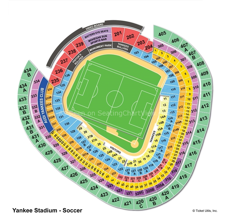 Seating Chart Yankee Stadium Concert Seating Chart Yankee StadiumYankee Stadium Seating Chart Concert