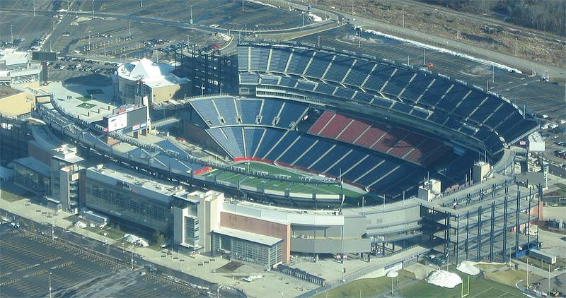 Gillette Stadium Gillette Stadium, Foxborough MA