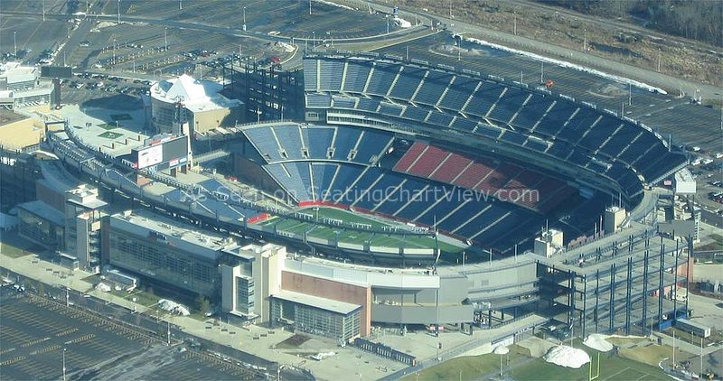 Gillette Stadium, Foxbourough MA