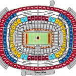 FedExField Football Seating Chart 150x150 FedExField, Landover MD