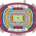 FedExField Football Seating Chart 150x150 FedExField, Landover MD