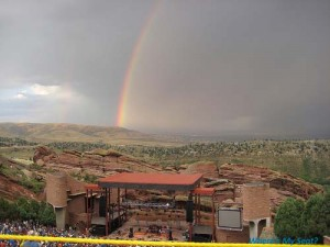 Red Rocks Rainbow 300x225 Red Rocks Amphitheater, Denver CO