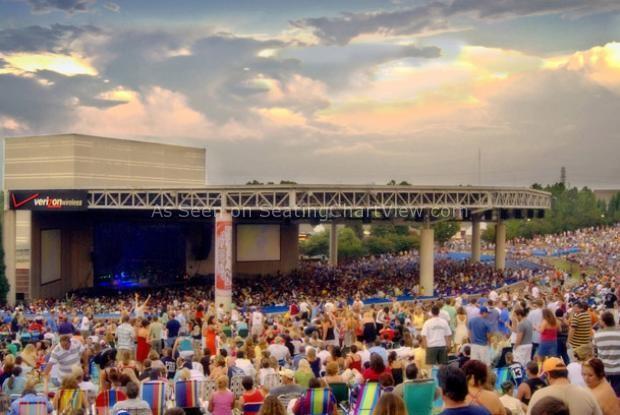 PNC Music Pavilion, Charlotte NC