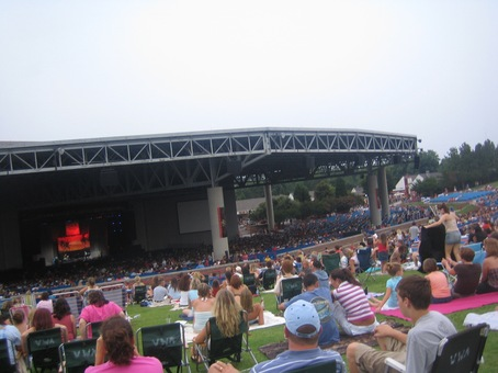 Verizon Wireless Amphitheater Charlotte PNC Music Pavilion, Charlotte NC