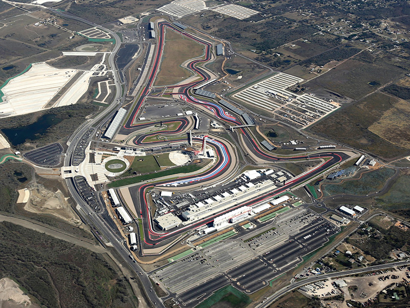 Circuit of the Americas, Austin TX
