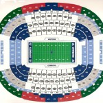 Cowboys Stadium Seating Chart 150x150 AT&T Stadium, Arlington TX