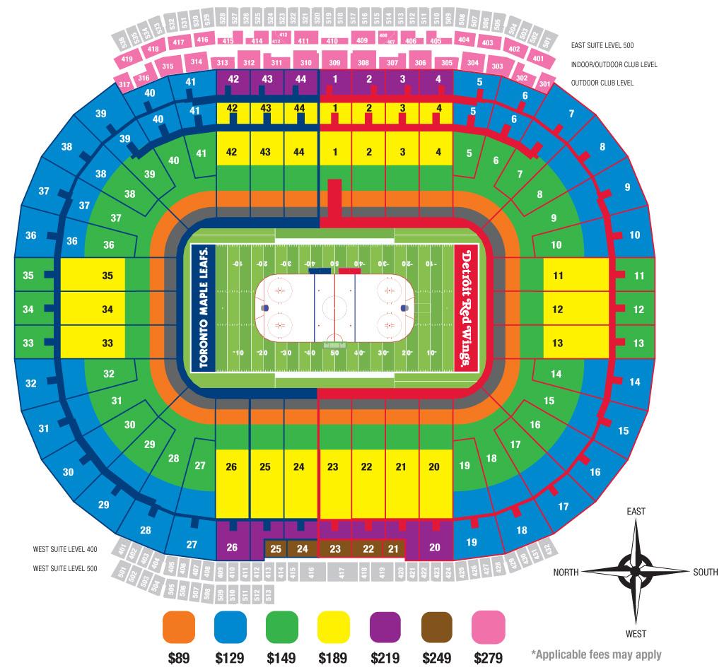 Michigan Stadium Ann Arbor Mi Seating Chart View