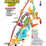 New Hampshire Motor Speedway Parking Map