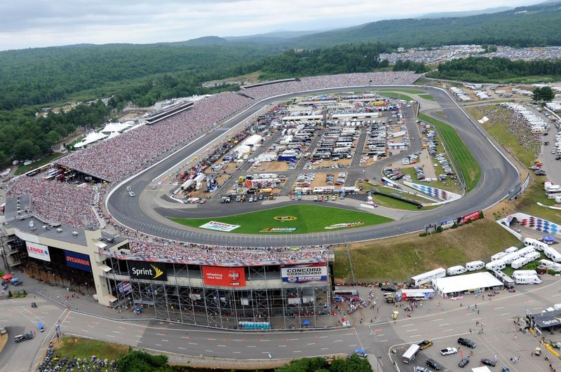 New Hampshire Motor Speedway Loudon Nh Seating Chart View