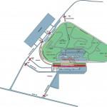 Pocono Raceway Facility Map