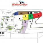 Watkins Glen International Raceway Seating Camping Chart
