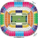 Bank of America Stadium Football Seating Chart