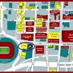 Bank of America Stadium Parking Map