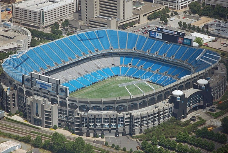 Bank of America Stadium, Charlotte NC