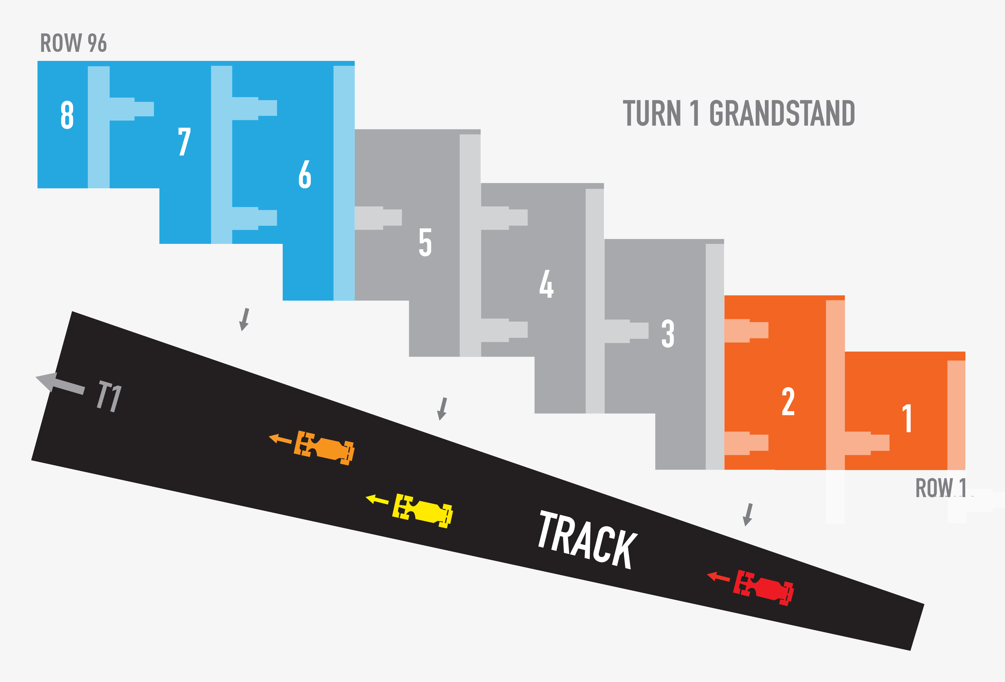 Circuit of the Americas, Austin TX   Seating Chart View