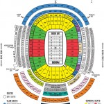 Lambeau Field Seating Chart 150x150 Lambeau Field, Green Bay WI
