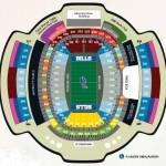 Ralph Wilson Stadium Football Seating Chart