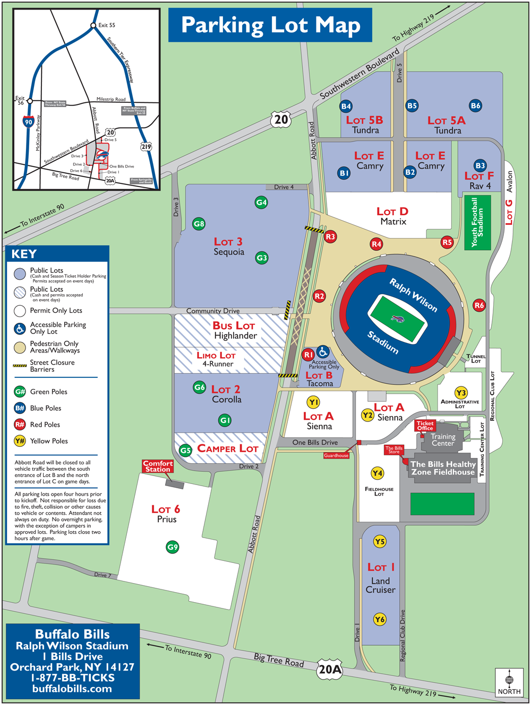 Ralph Wilson Stadium Orchard Park Ny Seating Chart View