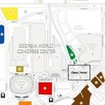 Georgia Dome Parking Map