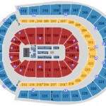 Bridgestone Arena End Stage Seating Chart