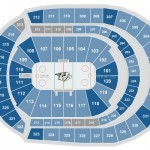 Bridgestone Arena Hockey Seating Chart