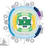 Qualcomm Stadium Football Seating Chart 150x150 Qualcomm Stadium, San Diego CA