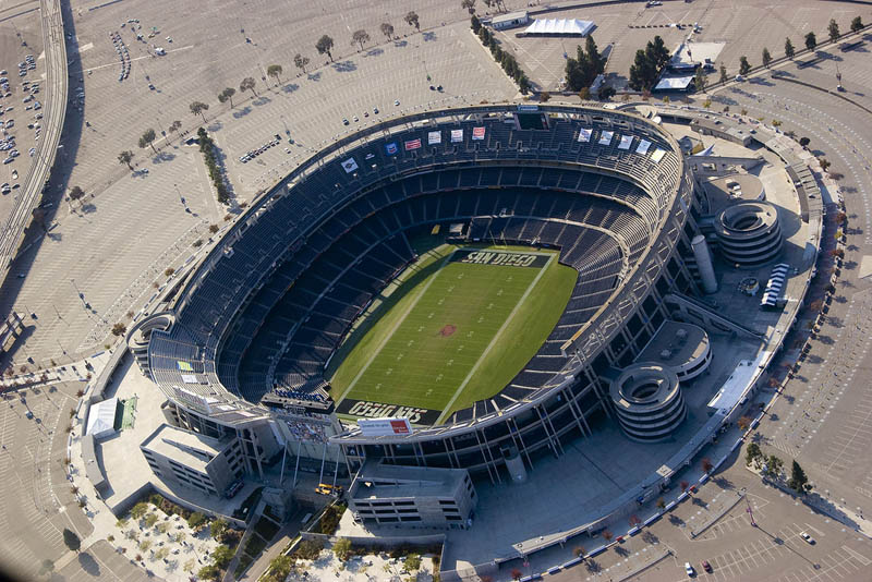 Qualcomm Stadium, San Diego CA