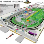 Indianapolis Motor Speedway 3D Facility Map