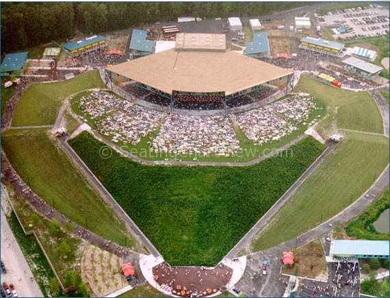 Veterans United Home Loans Amphitheater At Virginia Beach Parking