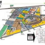 Las Vegas Motor Speedway Facility Map
