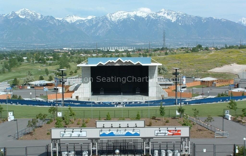 USANA Amphitheatre, Salt Lake City, UT