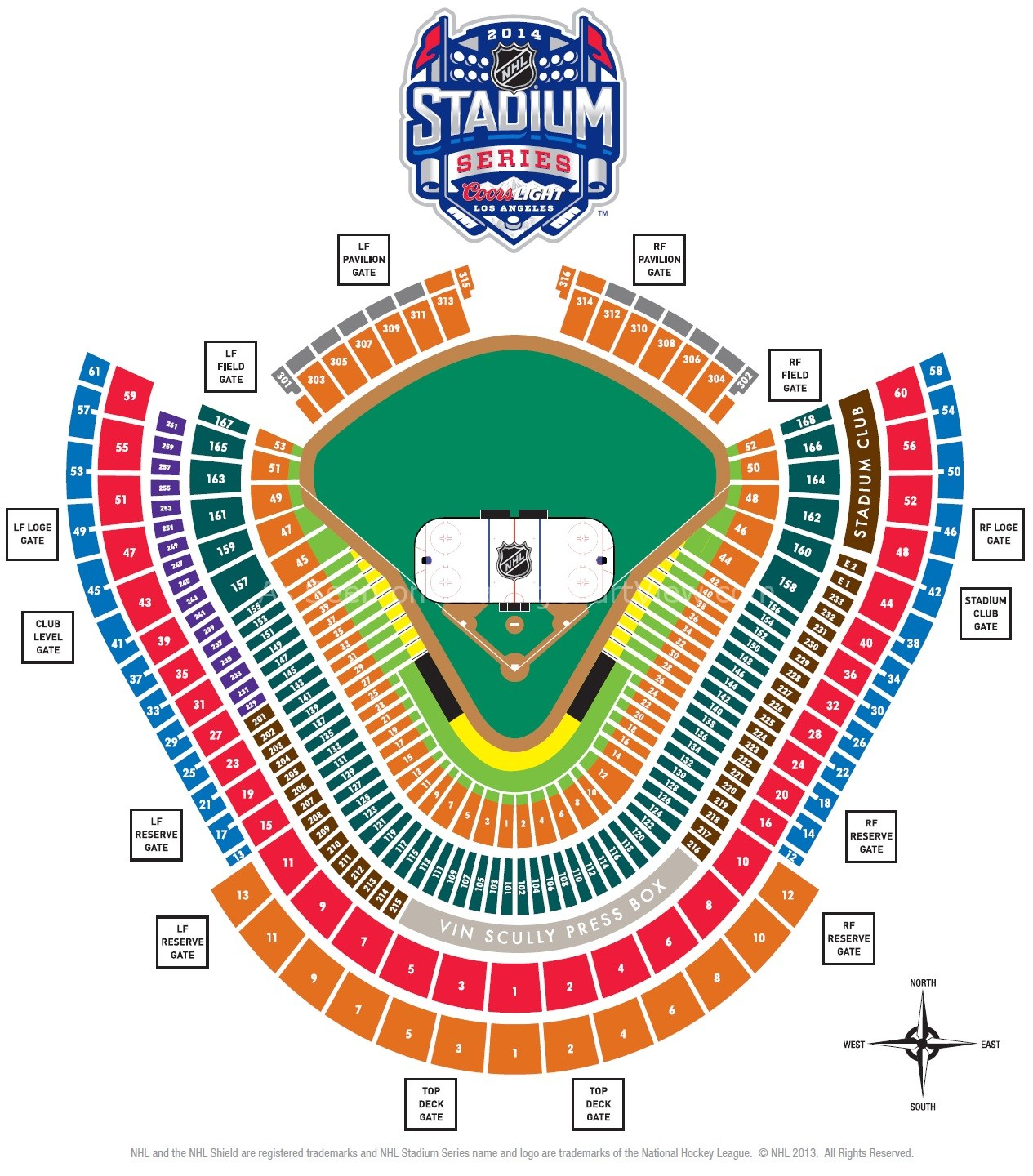 Yankee Stadium Seating Chart Concert Dodger stadium hockey seatingYankee Stadium Seating Chart Concert