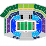 Levi's Stadium Football Seating Chart