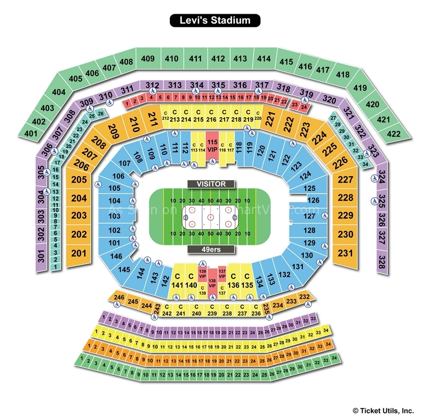 Related Keywords Amp Suggestions For Levi S Stadium Seating