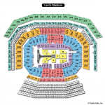Levis Stadium WWE Seating Chart