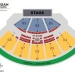 Cruzan Amphitheatre Seating Chart
