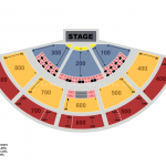 XFINITY Theatre Seating Chart