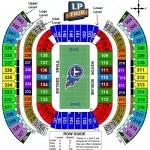 Nissan Stadium Football Seating Chart