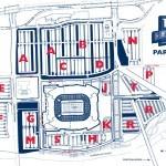 Nissan Stadium Parking Map