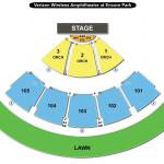 Verizon Wireless Amphitheatre at Encore Park Seating Chart