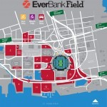 EverBank Field Parking Map