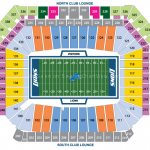 Ford Field Football Seating Chart