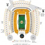 Heinz Field Football Seating Chart