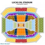 Lucas Oil Stadium Basketball Seating Chart