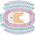 Paul Brown Stadium End Stage Concert Seating Chart