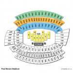 Paul Brown Stadium Side Stage Concert Seating Chart